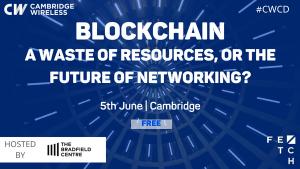 blockchain - cw event 5 June 2018